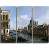 MasterPiece Painting - Bernardo Bellotto View of the Grand Canal