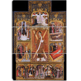 MasterPiece Painting - Bernat Martorell Altarpiece of Saint Vincent