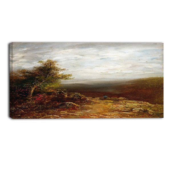 MasterPiece Painting - Ralph Albert Blakelock Above the Clouds