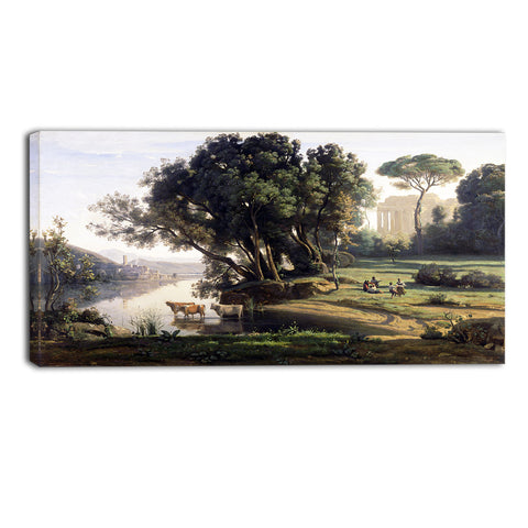 MasterPiece Painting - Camille Corot Italian Landscape