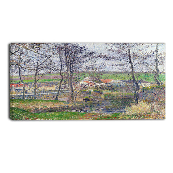 MasterPiece Painting - Camille Pissarro The Banks of the Viosne at Osny