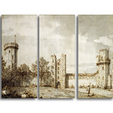MasterPiece Painting - Canaletto Warwick Castle The East Front from the Courtyard