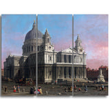 MasterPiece Painting - Canaletto St. Paul's Cathedral