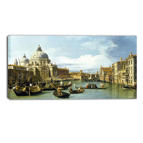 MasterPiece Painting - Canaletto The Entrance to the Grand Canal, Venice