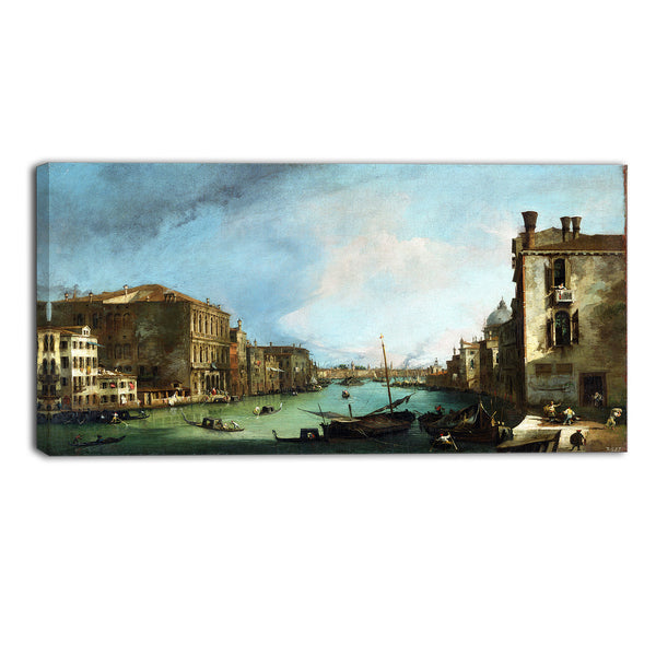 MasterPiece Painting - Canaletto The Grand Canal in Venice