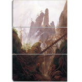 MasterPiece Painting - Caspar David Friedrich Rocky Landscape