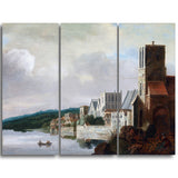 MasterPiece Painting - Claude de Jongh The Thames at Westminster