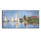 MasterPiece Painting - Claude Monet Regattas at Argenteuil