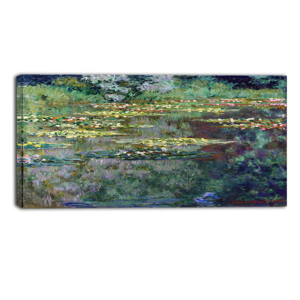 MasterPiece Painting - Claude Monet Le Bassin den Nympheas