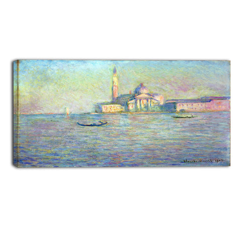 MasterPiece Painting - Claude Monet The Church of San Giorgio Maggiore Venice