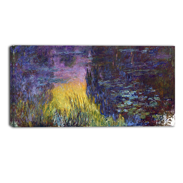 MasterPiece Painting - Claude Monet The Water Lilies Setting Sun