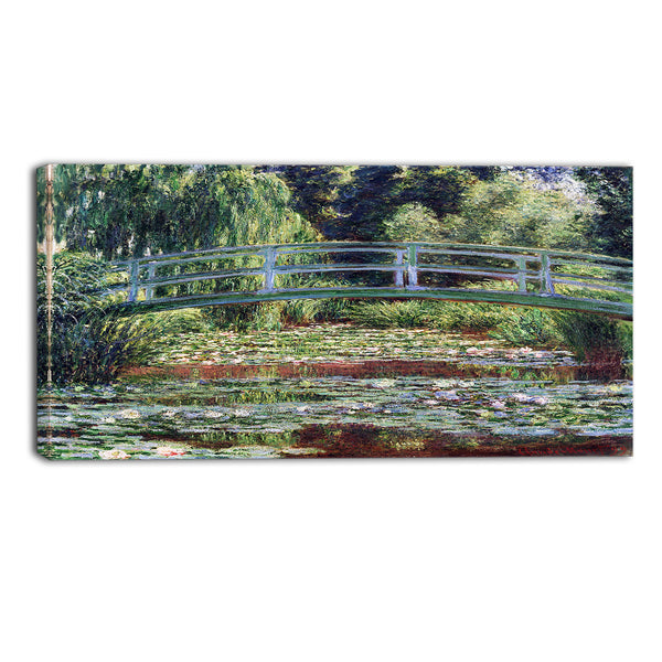 MasterPiece Painting - Claude Monet The Japanese Footbridge