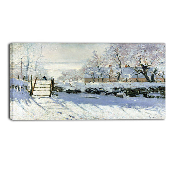 MasterPiece Painting - Claude Monet The Magpie