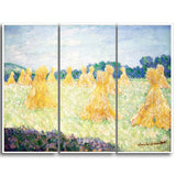 MasterPiece Painting - Claude Monet The Young Ladies of Giverny Sun Effect