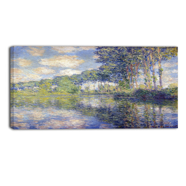 MasterPiece Painting - Claude Monet Poplars on the Epte