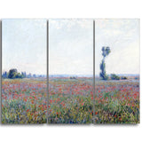 MasterPiece Painting - Claude Monet Poppy Field