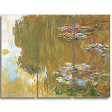 MasterPiece Painting - Claude Monet The Water Lily Pond c 1917