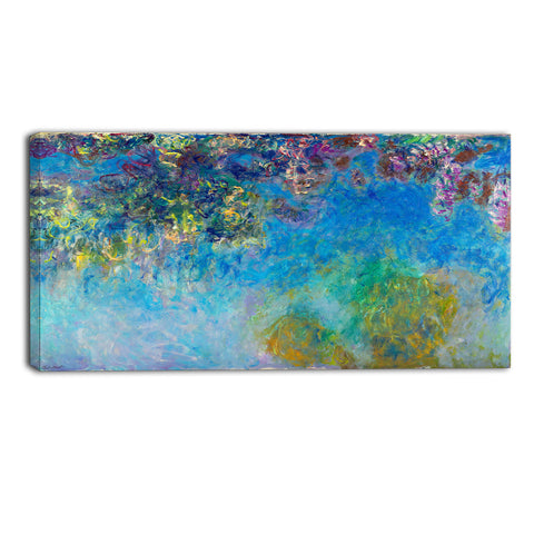 MasterPiece Painting - Claude Monet Wisteria