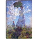 MasterPiece Painting - Claude Monet Woman with a Parasol Madame Monet and Her Son