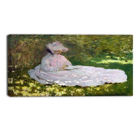 MasterPiece Painting - Claude Monet Springtime