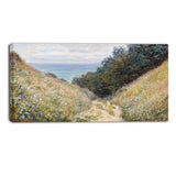 MasterPiece Painting - Claude Monet Road at La Cavee Pournville