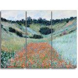 MasterPiece Painting - Claude Monet Poppy Field in a Hollow near Giverny
