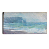 MasterPiece Painting - Claude Monet Regnvaer Etreatat