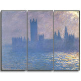 MasterPiece Painting - Claude Monet Houses of Parliament Sunlight Effect