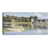 MasterPiece Painting - Claude Monet The Argenteuil Bridge