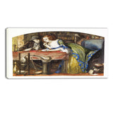 MasterPiece Painting - Dante Gabriel Rossetti The Laboratory