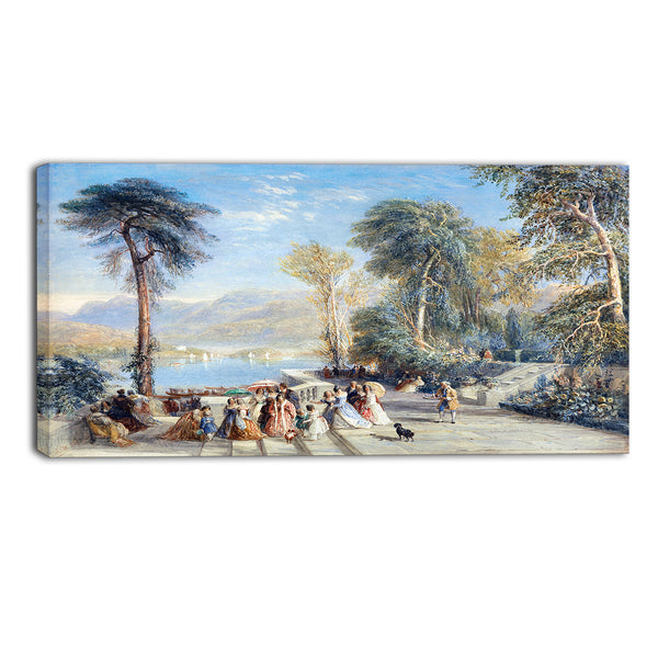 MasterPiece Painting - David Cox Windermere During the Regatta