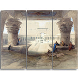 MasterPiece Painting - David Roberts From under the Portico of the Temple