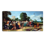 MasterPiece Painting - Dirck Hals The Outdoor Party