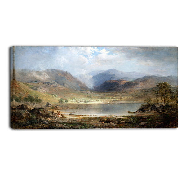 MasterPiece Painting - Robert Duncanson Loch Long