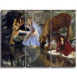 MasterPiece Painting - Edgar Degas Portrait of Mlle Fiocre in the Ballet