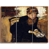 MasterPiece Painting - Edgar Degas Mary Cassatt