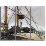 MasterPiece Painting - Edouard Manet The Ship's Deck