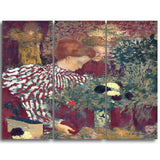 MasterPiece Painting - Edouard Vuillard Woman in a Striped Dress