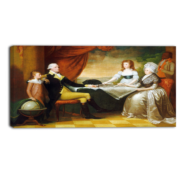 MasterPiece Painting - Edward Savage The Washington Family