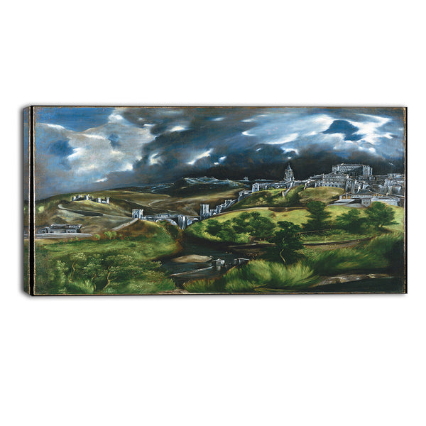 MasterPiece Painting - El Greco View of Toledo