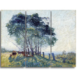 MasterPiece Painting - Elioth Gruner The Wattles
