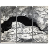 MasterPiece Painting - Elizabeth Pringle A Tiger Lying in the Entrance of a Cave