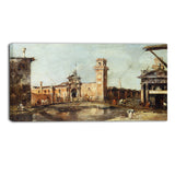 MasterPiece Painting - Francesco Guardi The Entrance to the Arsenal in Venice