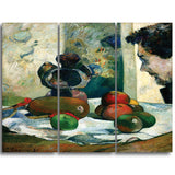 MasterPiece Painting - Paul Gauguin Still Life with Profile of Laval