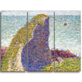 MasterPiece Painting - Georges Seurat Study for Le Bec du Hoc Grandcamp