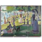 MasterPiece Painting - Georges Seurat A Sunday on La Grande Jatte