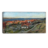 MasterPiece Painting - Gerhard Munthe View of Nevlunghavn