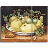 MasterPiece Painting - Giovanna Garzoni Still Ife with Bowl of Citrons
