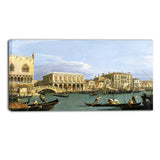 MasterPiece Painting - Giovanni Antonio Canal View of the Riva degli Schiavoni, Venice