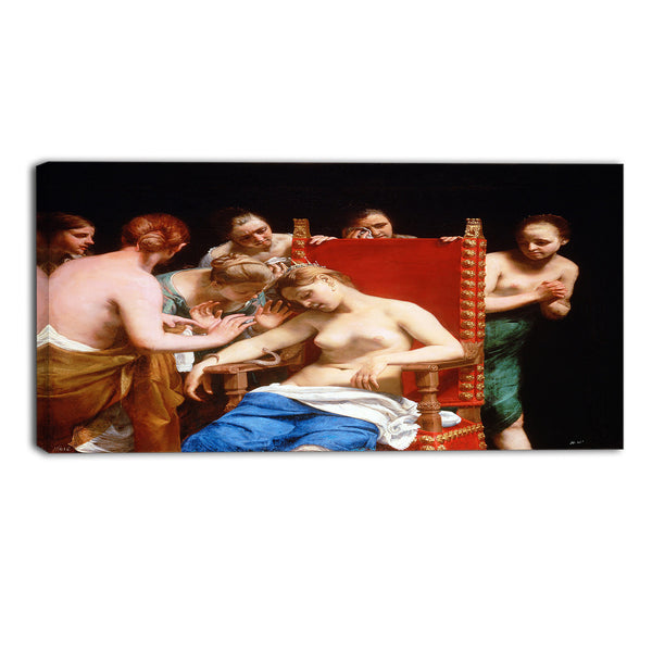 MasterPiece Painting - Guido Cagnacci The Death of Cleopatra